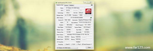 GPU-Z 0.8.8 汉化版