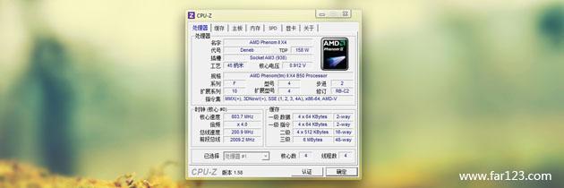 CPU-Z 1.61.3 简体中文版
